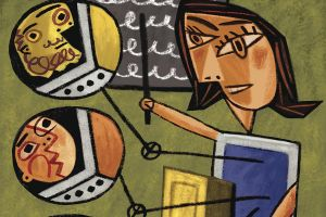 "illustraton from the article ""Online Education: More than MOOCs"""