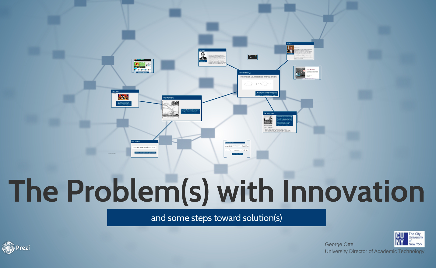 The Problem(s) with Innovation